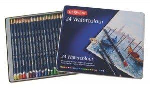 4 Derwent Watercolour pencils