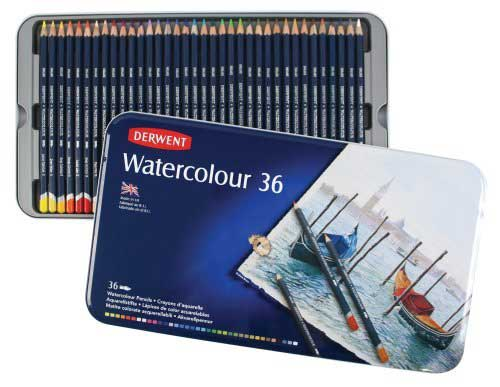 Derwent Water Color 36 Pencil Sets can be won in the procartoon.com June Prize Draw prize.   The draw will take place on June 25th 2017 and two lucky winners will be drawn.  To enter the next prize draw simply sign up for the Procartoon newsletter.  All supscribers are automatically entered.