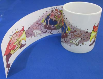 ceramic mugs sublimation art business