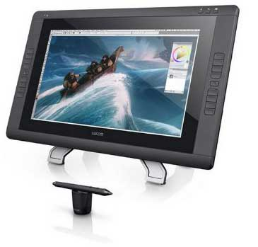 Cintiq 22HD graphics tablet reviews