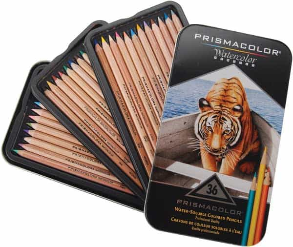 prismacolor premier watercolor colored pencils