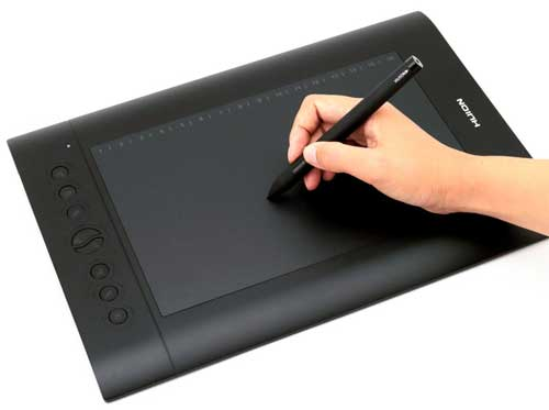 Huion H610 pro painting drawing pen tablet