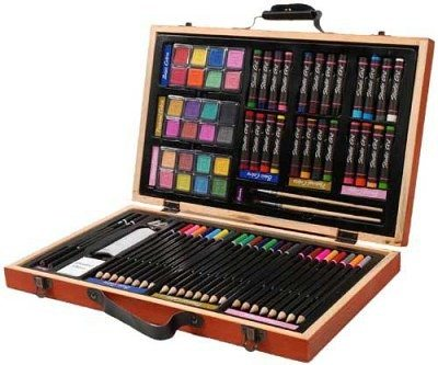 Doric 80 piece art set best colored pencils for artists