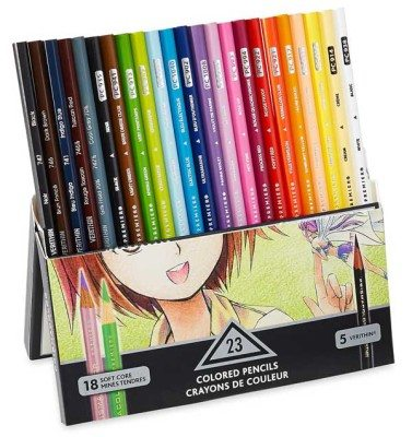 prismacolor premier soft core manga best colored pencils for artists