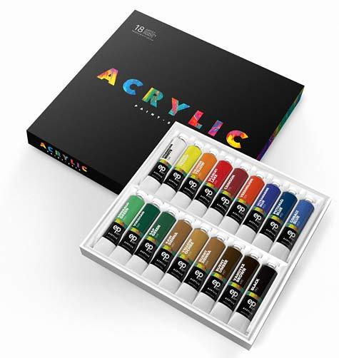 Acrylic artists watercolor paint set