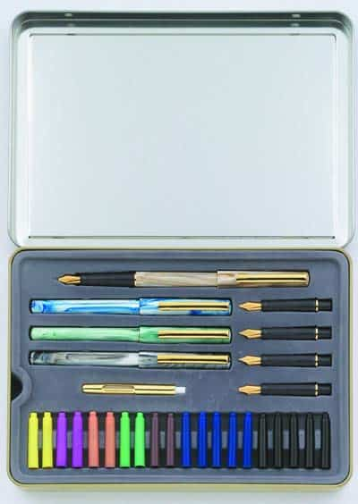 staedler-33-piece-calligraphy-set-in-a-box