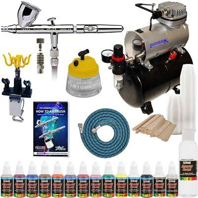 Which are the Top Rated Airbrush and Compressor Kits?