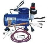 Paasche-TG-100D-Gravity-Feed-Airbrush-&-Compressor-Package