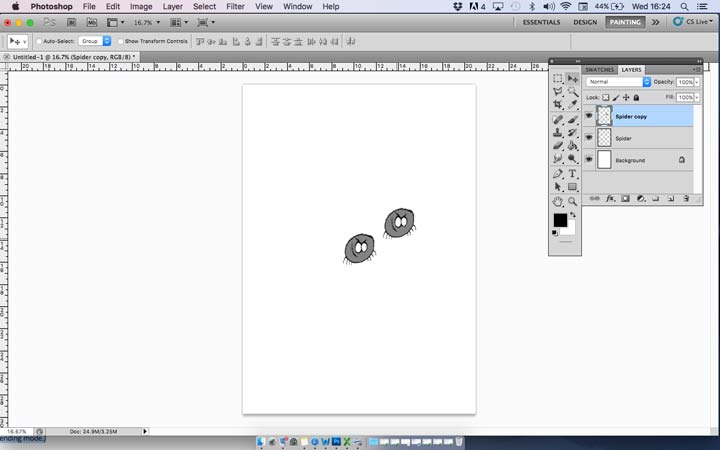 how to create duplicate layers in photoshop