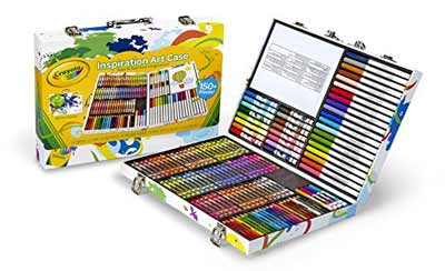crayola inspiration art case art tools 140 pieces