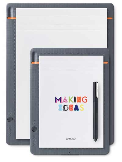wacom bamboo slate smartpad digital writing