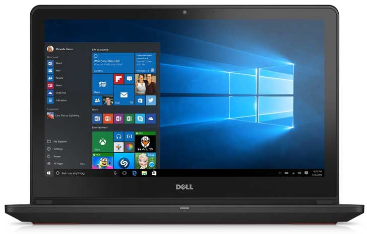 Dell Inspiron i7559-7512GRY UHD Laptop