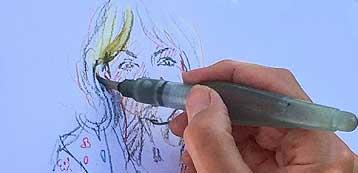 Lynne Chapman Urban sketching