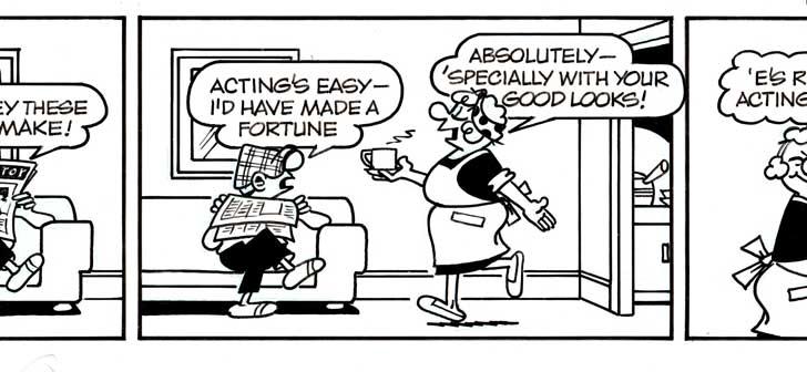 Reg Smyth Andy capp Cartoon Strip owned by Rob Nesbitt