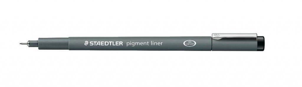 Staedler pigment liner pen o.5