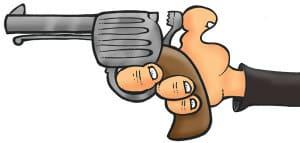 abraham-lincoln-cartoon-drawing-assassination-gun