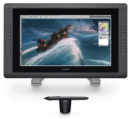 Cintiq-22HD best digital drawing pad for artists