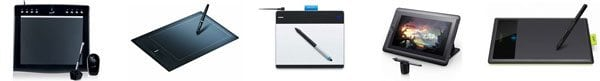 top-5-graphics-drawing-tablets-for-cartooning