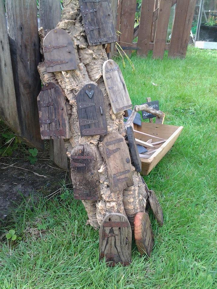 sticks and stones fairy doors
