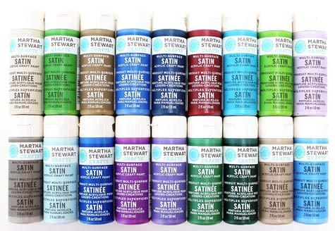 5 of the best available acrylic paint brands for artists for Martha stewart glass paint colors