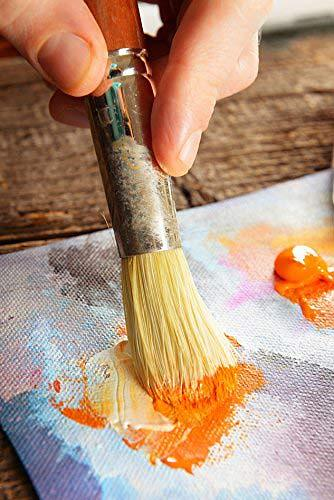Best acrylic paint brands brush image