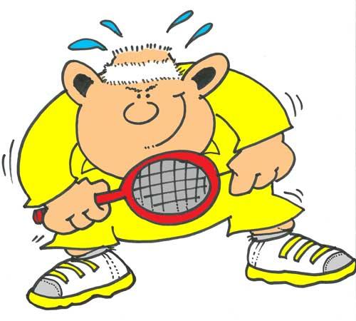 Big Tennis Player