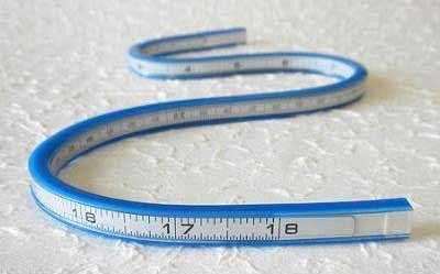 18-Inch bendy ruler curve