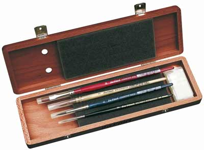 da-vinci-luxury-watercolor-series-paint-brush-set