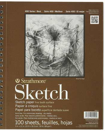 strathmore-series-400-sketch-pads-9-in-x-12-in-pad-of-100-3-pack