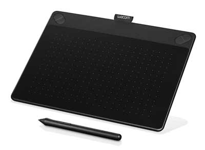 wacom intuos art pen and touch digital graphics drawin painting tablet medium