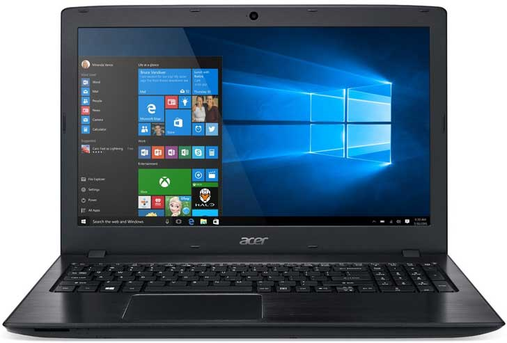 best laptop for photoshop Acer Aspire E 15 E5-575G-53VG Laptop