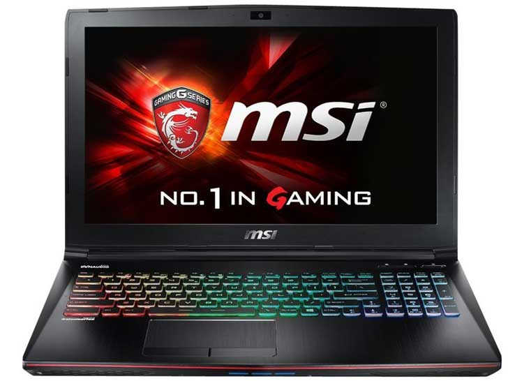 great photoshop laptop MSI GE62 Apache Pro-004 Gaming Laptop