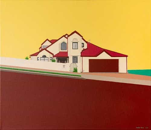 Dream house in the suburbs by Lester Blair