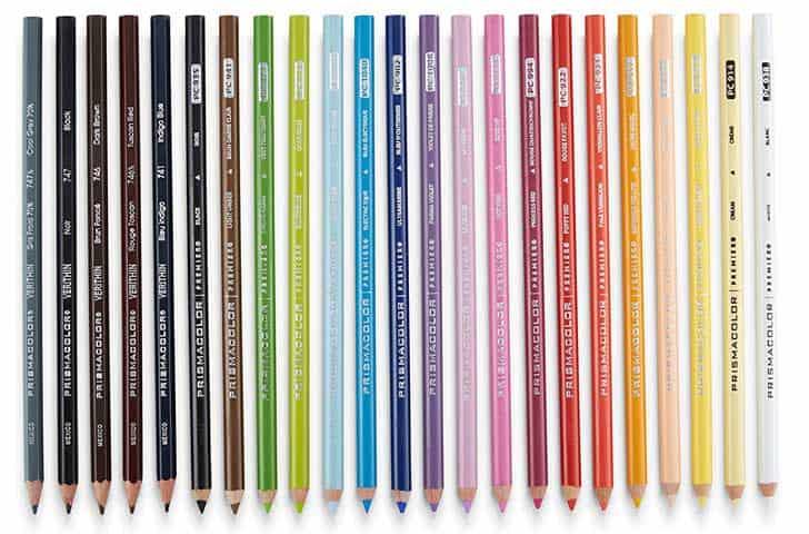 Prismacolor Manga Color Pencils best colored pencil sets for Manga