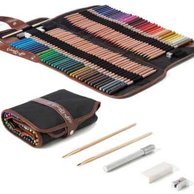 Cool pencil cases for great pencil storage at your fingertips - Spend Less Time Looking and More Time Drawing!!!