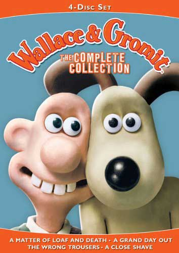 wallace and grommit nick park complete collection