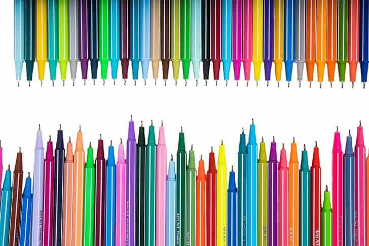 Line Drawing With Fineliner And Pencils : Best fine tip pens top rated color sets reviewed