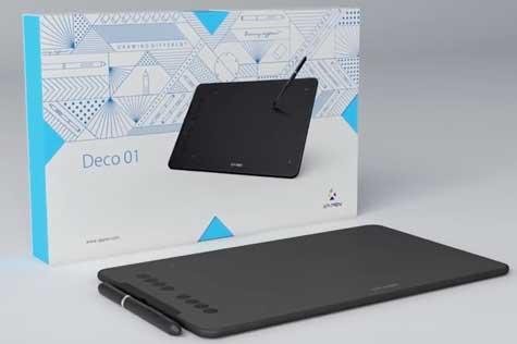 Digital Drawing Tablet Review - XP-Pen Deco 01 -
