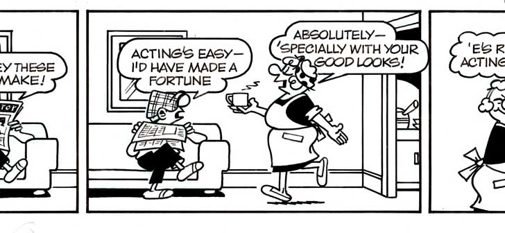 Reg Smyth Andy capp Cartoon Strip owned by Rob Nesbitt