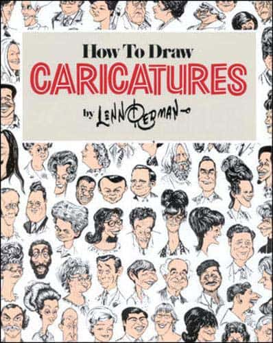lenn redman how to draw caroicatures