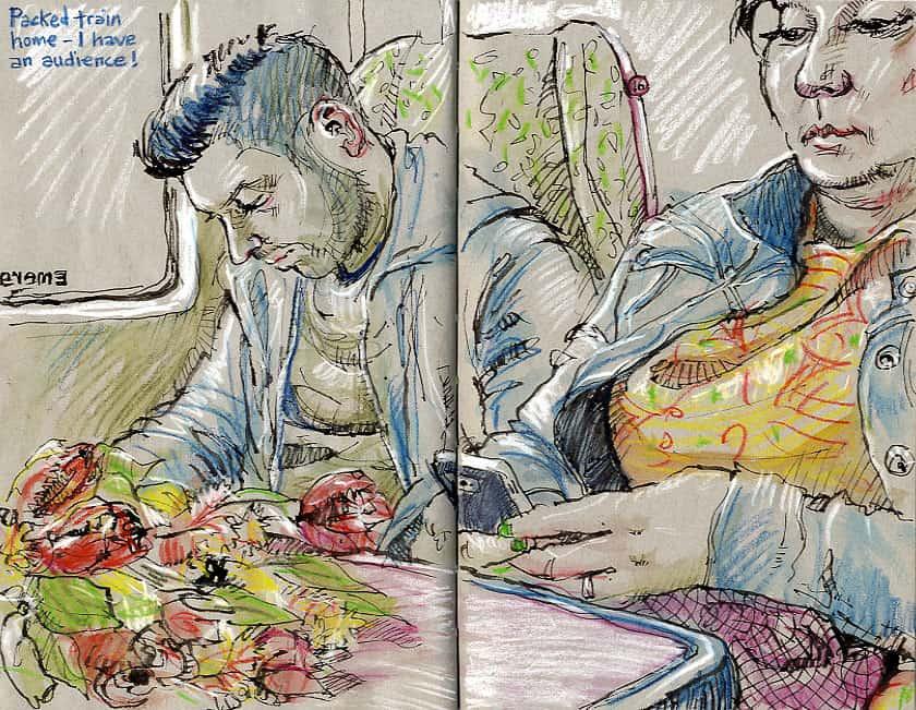practice caricature drawing lynne chapman urban artist