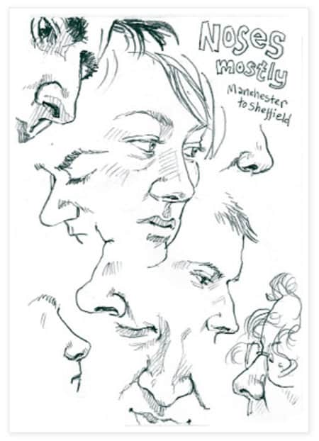 DRAWING CARICATURES USING USBAN SKETCHING