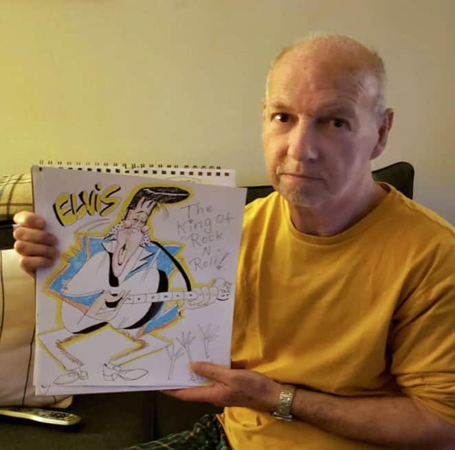 Cartoonist Profile - Rob Slatus, cartoonist and caricaturist from Brooklyn, New York
