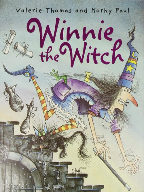 Winnie the witch childrens picture books